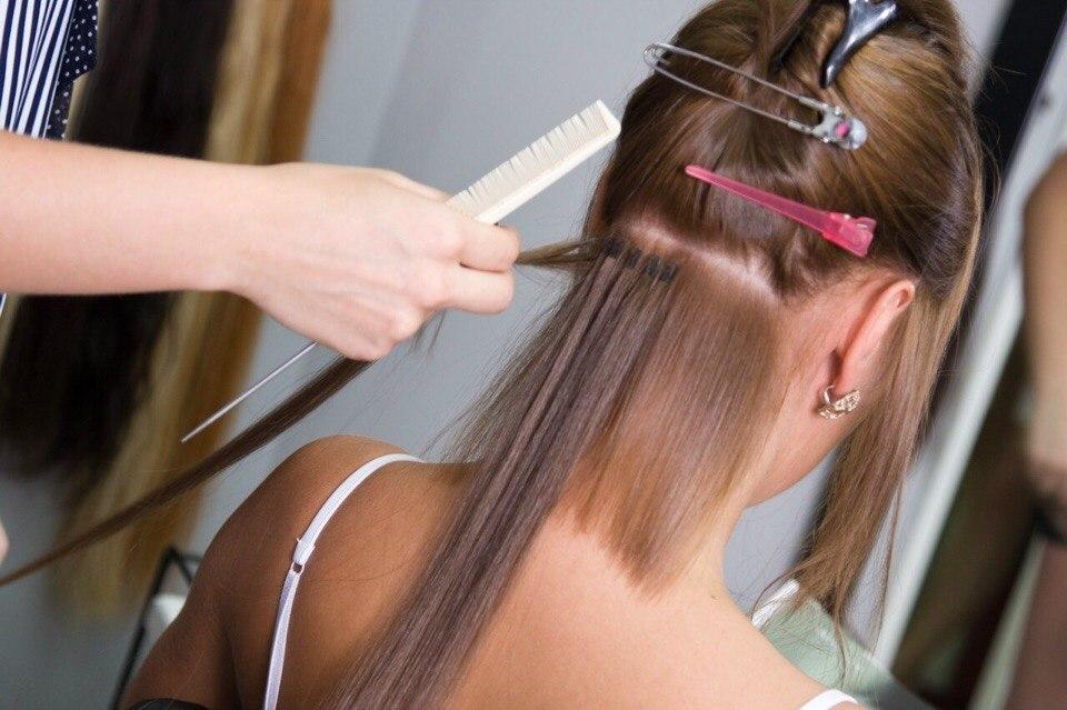 Наращивание волос материалы купи